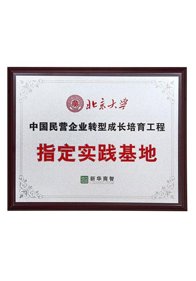 北京大学制定实践基地